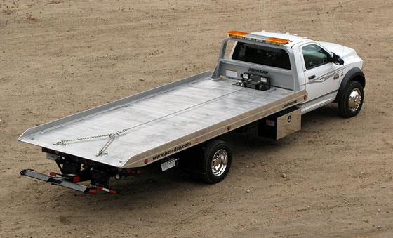 15 Ram 4500 Wrecker upfit Landmark commercial trucks