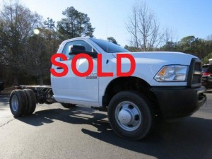 2014 RAM 3500 HD chassis cab CF4208 ACT SOLD