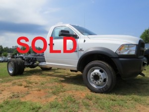 2014 RAM 4500 Chassis cab CF4242 ACT SOLD